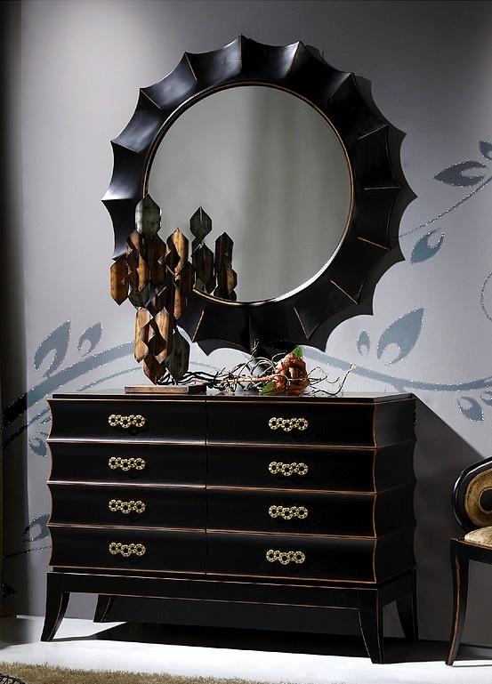 Cómoda com espelho
